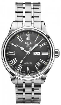 Zegarek męski Ball NM1058D-S4J-GY