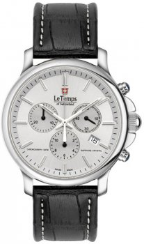 Zegarek męski Le Temps LT1057.11BL01