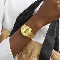 Zegarek męski Casio casio retro maxi A168WEGM-9EF - duże 9