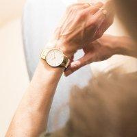 Zegarek damski Obaku Denmark slim V247LXGWSG - duże 8