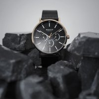 Zegarek męski Obaku Denmark slim V246GMVBMB - duże 6