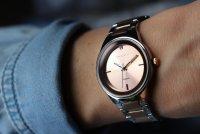 Zegarek damski Caravelle bransoleta 45P109 - duże 7