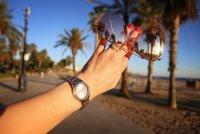 Zegarek damski Caravelle bransoleta 45P109 - duże 5