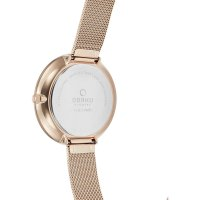 Zegarek damski Obaku Denmark slim V211LXVIMV - duże 3
