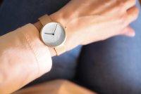 Zegarek damski Obaku Denmark slim V219LXVHMV - duże 3