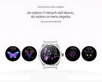Zegarek damski Rubicon smartwatch RNBE37SIBX05AX - duże 5