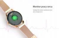 Zegarek damski Rubicon smartwatch RNBE37RIBX05AX - duże 2