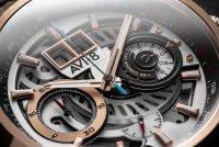 Zegarek męski AVI-8 hawker harrier ii AV-4065-02 - duże 2