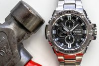 Zegarek męski Casio g-shock g-steel GST-B100D-1AER - duże 9