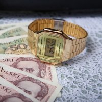 Zegarek męski Casio casio retro maxi A168WEGM-9EF - duże 5